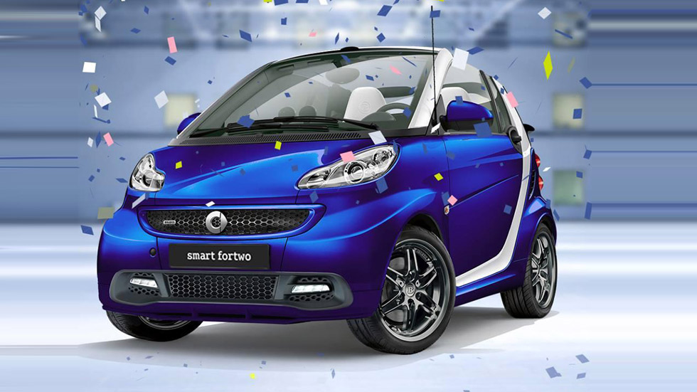 Smart ForTwo Brabus Fan Edition, encanto urbano