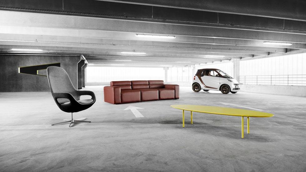 Smart ForTwo BoConcept, diseño en la ciudad