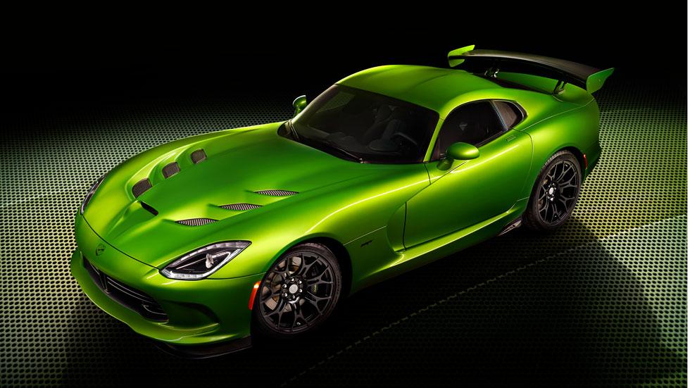 SRT Viper Stryker Green, veneno verde para la víbora americana