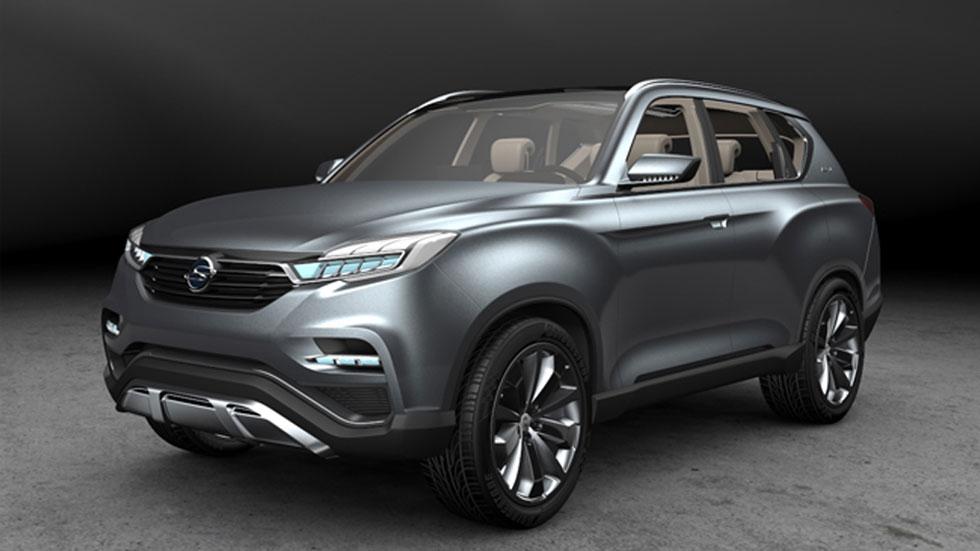SsangYong LIV-1 Concept, el anti-Audi Q7 surcoreano
