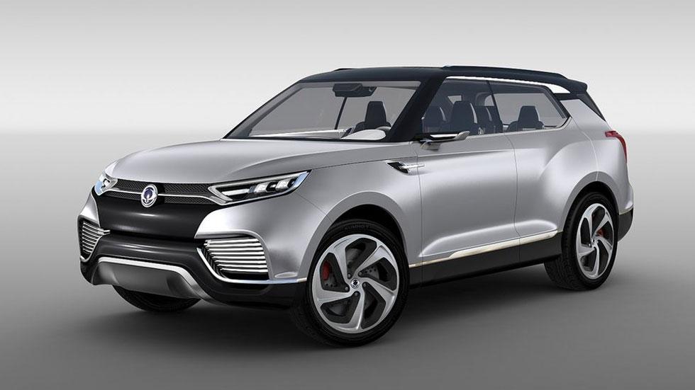 Ssangyong XLV Concept, otro híbrido del futuro de la marca