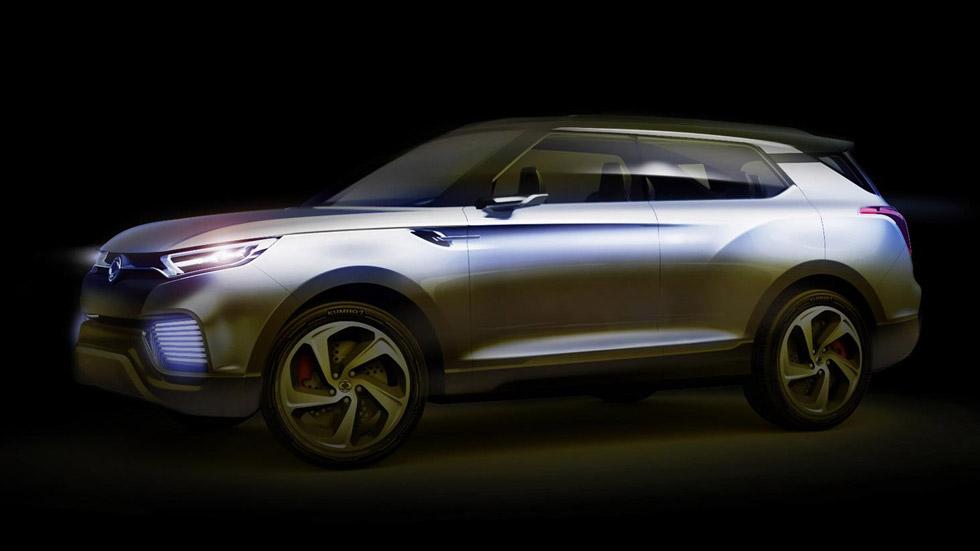SsangYong XLV Concept: nuevo SUV pequeño a la vista