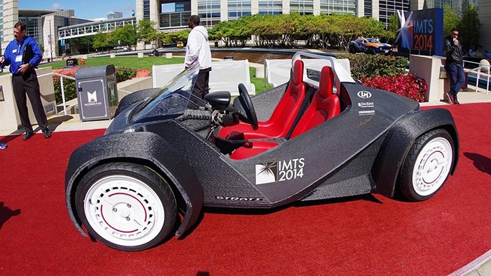 Conducen el primer coche impreso en 3D