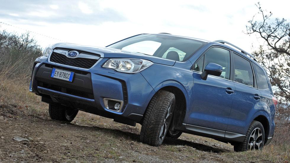 Primera prueba: Subaru Forester 2015, más y mejor