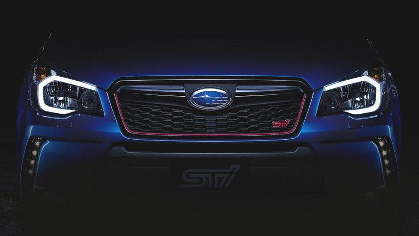 Subaru Forester STi Concept, el SUV se vuelve deportivo