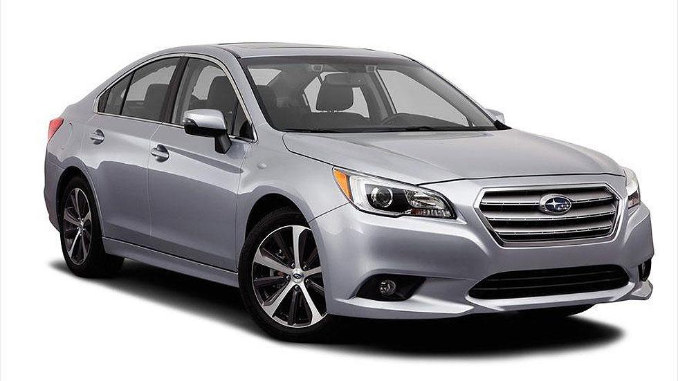 Subaru Legacy 2015, desveladas sus imágenes antes de Chicago