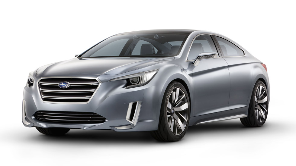 Subaru Legacy Concept, reinterpretación moderna