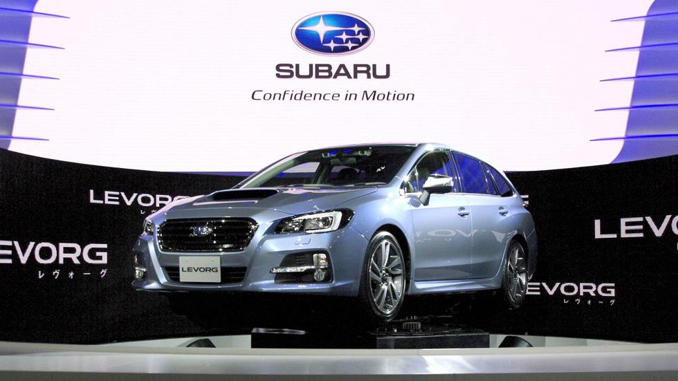 Subaru Levorg, las familias japonesas ya tienen su regalo