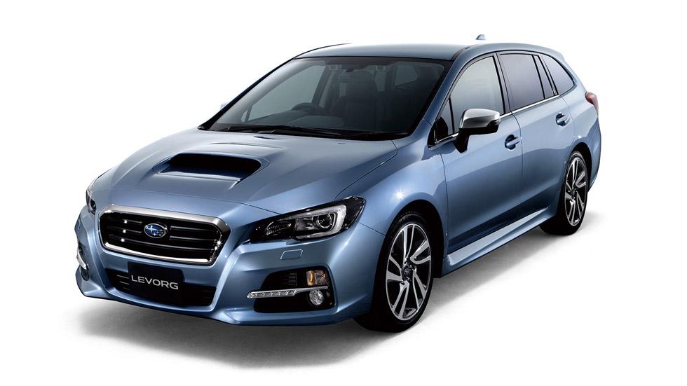Subaru Levorg Concept, para las familias japonesas