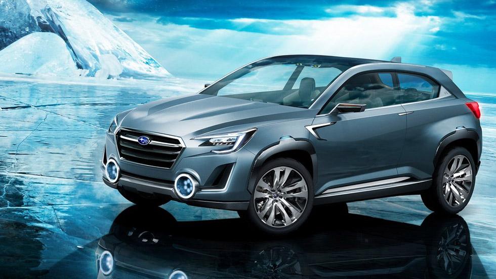 Subaru Viziv-2 Concept, SUV con tintes exóticos