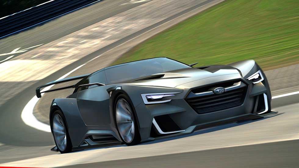 Subaru Viziv GT Vision Gran Turismo, amenaza virtual desde Japón