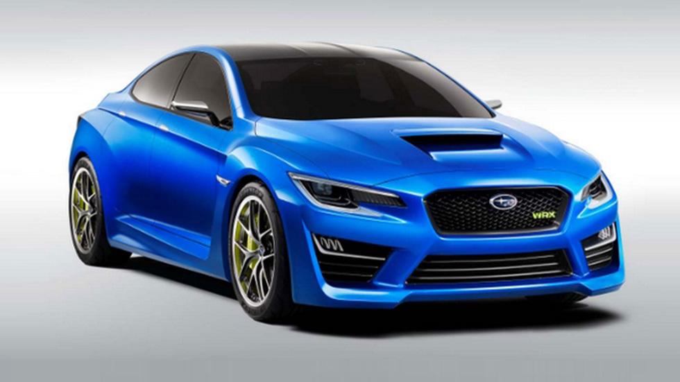 Subaru WRX Concept, nuevo espíritu deportivo