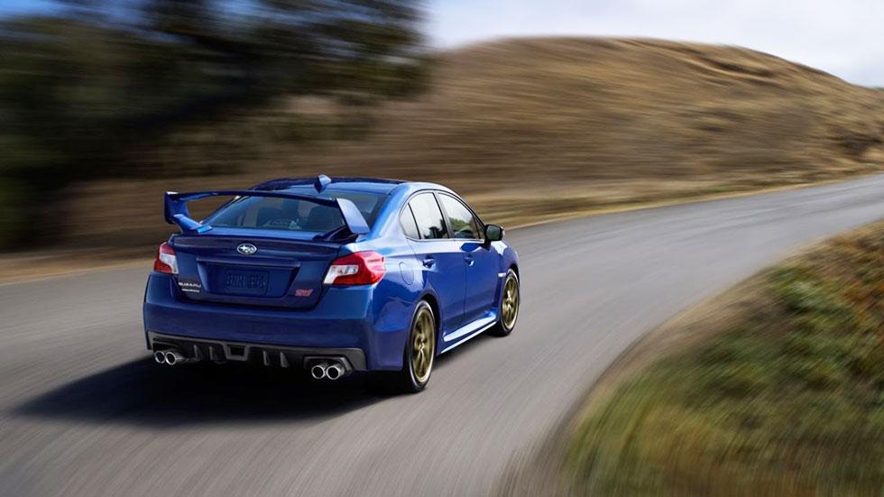 Nuevo Subaru WRX STI 2014, esencia deportiva