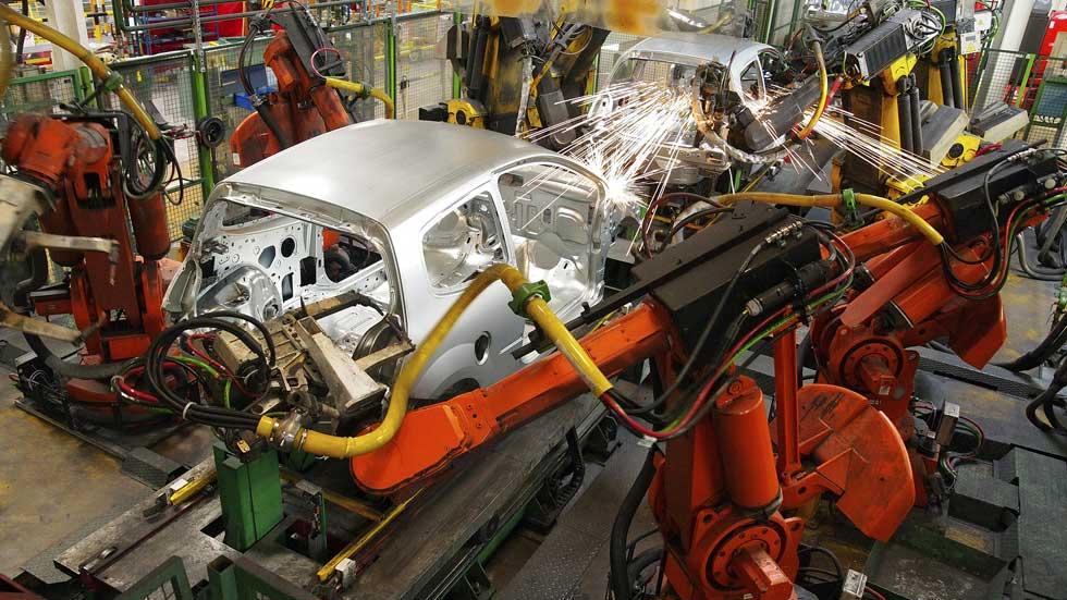 Sube la producción de vehículos en España