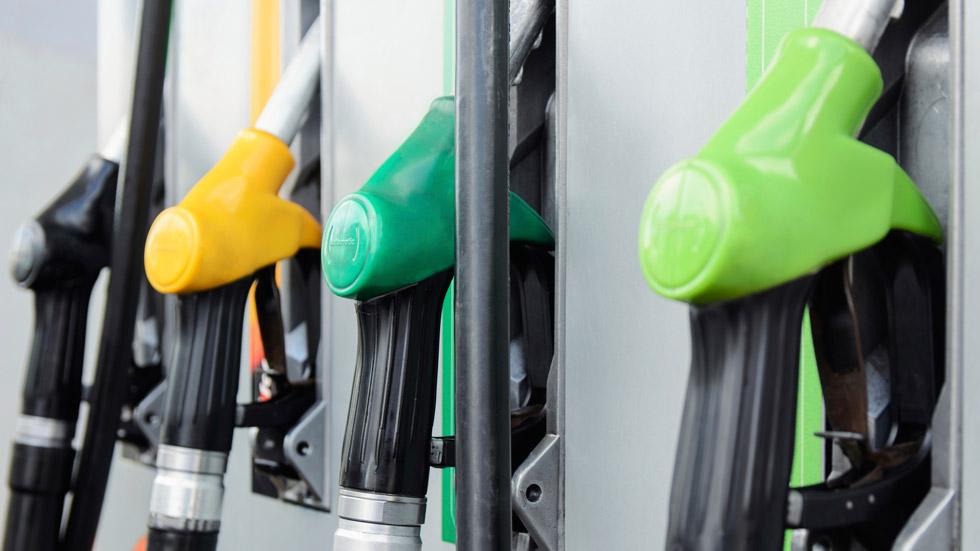 Subida moderada de los combustibles