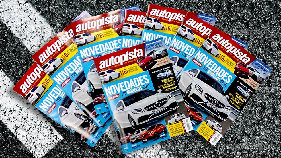 115 novedades de regalo con la revista Autopista