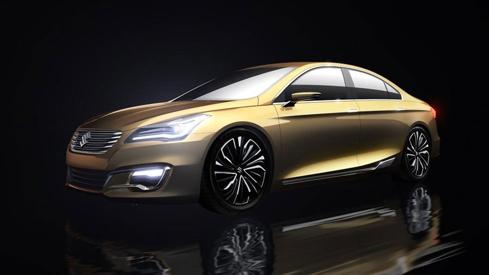 Suzuki Authentics Concept, ¿sustituto del Kizashi?