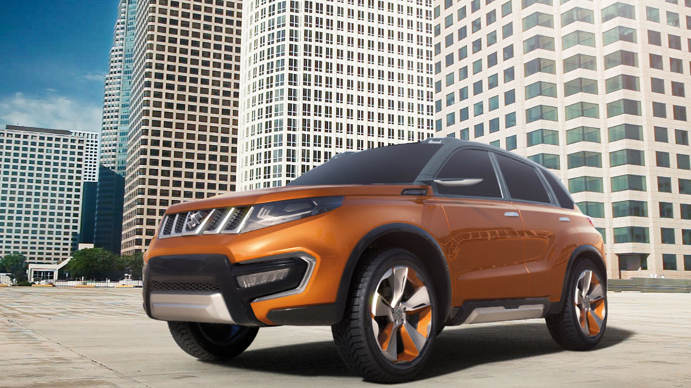 Suzuki iV-4, un nuevo SUV compacto para 2015