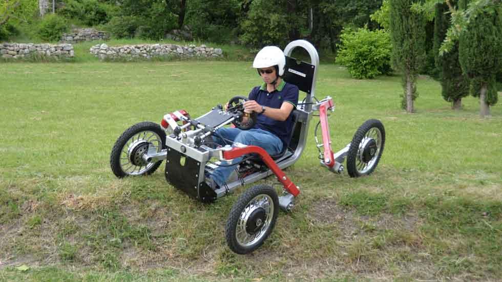 Swincar E-Spider, un revolucionario todoterreno eléctrico
