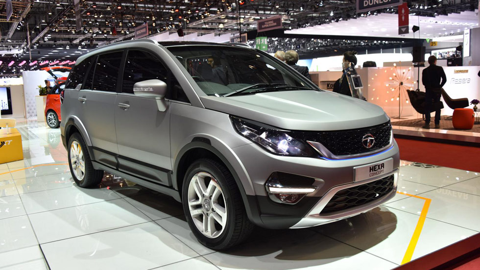 Tata Hexa Concept, ¿antesala del nuevo SUV made in India?