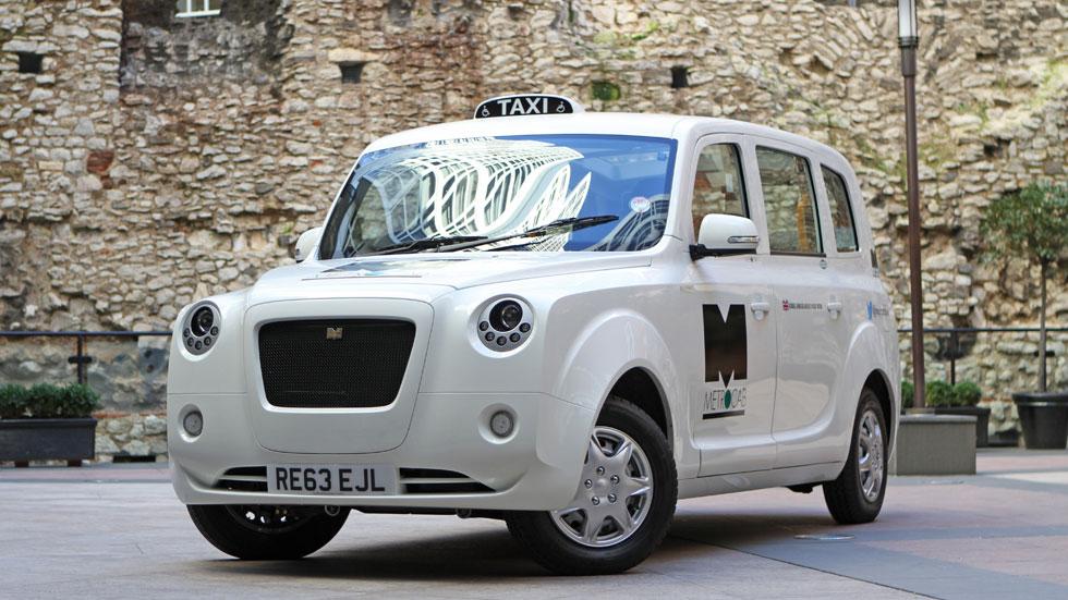 Taxi Frazer-Nash, así es el taxi eléctrico inglés