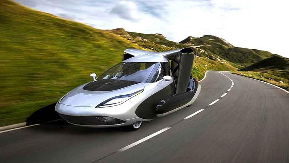 Terrafugia TF-X, el coche volador del futuro (vídeo)