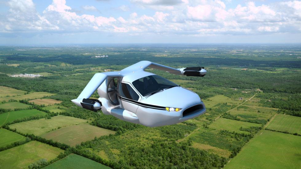 Terrafugia TF-X: el coche volador, cada vez más cerca