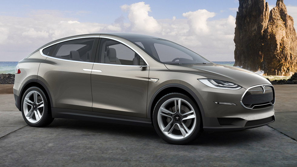 Tesla Model X, el SUV eléctrico de siete plazas llegará en 2016