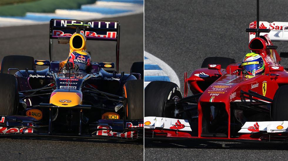 Todos los equipos de la F1 2013