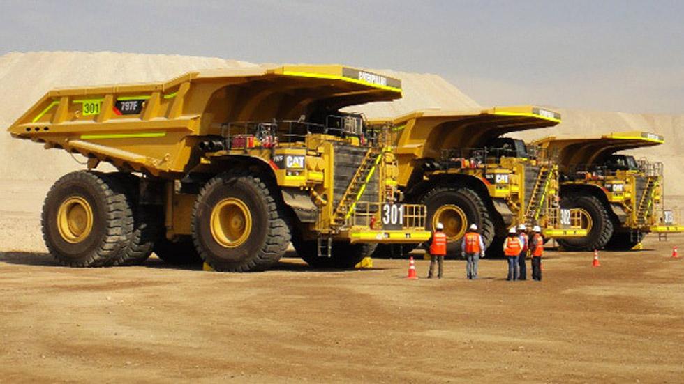 Los 5 camiones 'dumper' más espectaculares