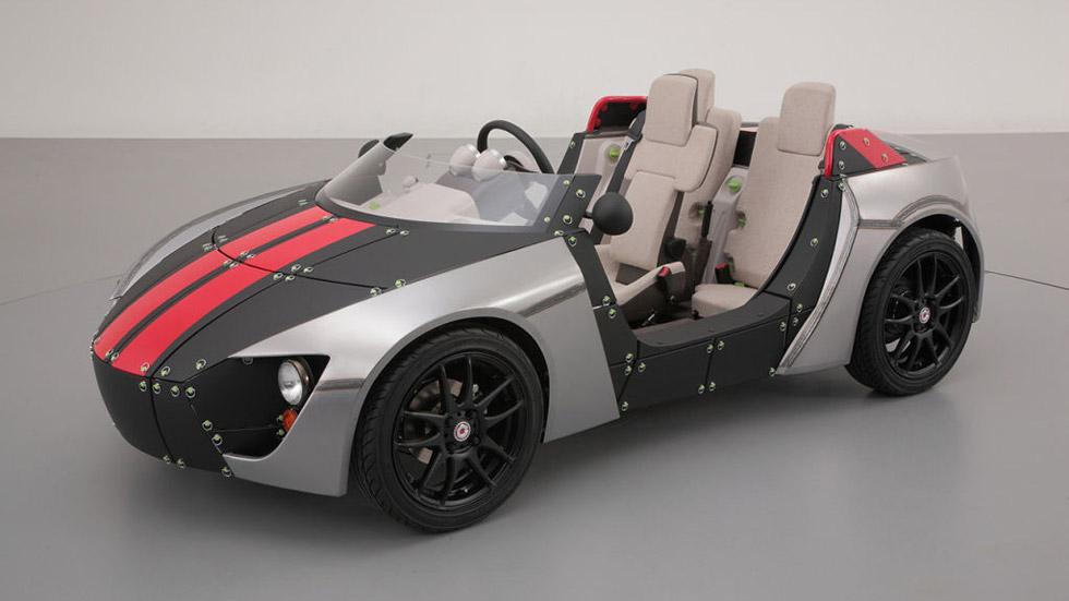 Toyota Camatte57s: coge a tu hijo, construid el coche y… ¡a disfrutar!