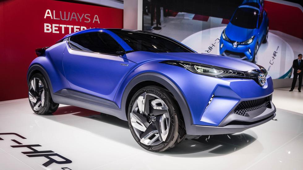 Toyota C-HR Concept, híbrido y rompedor