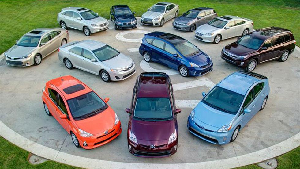 Toyota, la marca de coches que más vende