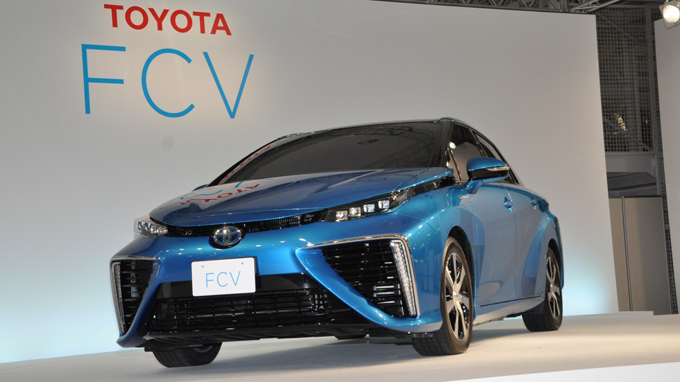 Toyota FCV, democratiza el hidrógeno