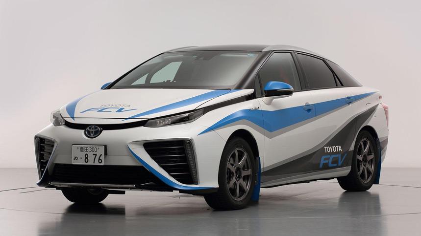 Toyota desarrolla un FCV de hidrógeno especial para rallyes