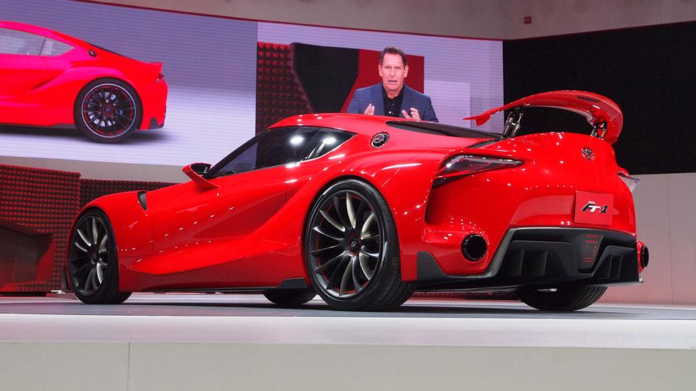Toyota FT-1 Concept, herencia deportiva en su máxima expresión