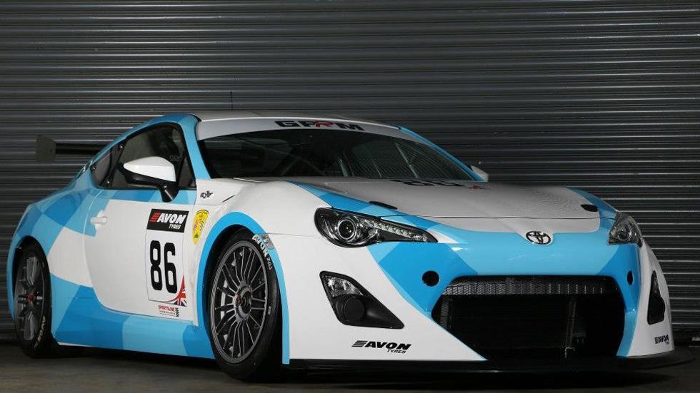 Toyota GT86 GT4, pasión japonesa para los circuitos