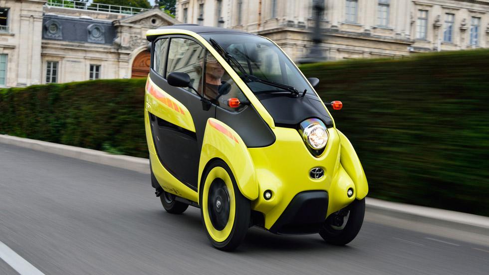 Contacto: Toyota i-ROAD, sensaciones únicas