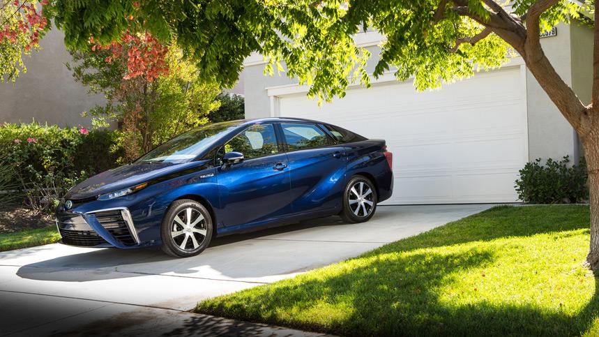 El Toyota Mirai de hidrógeno, una realidad en 2015