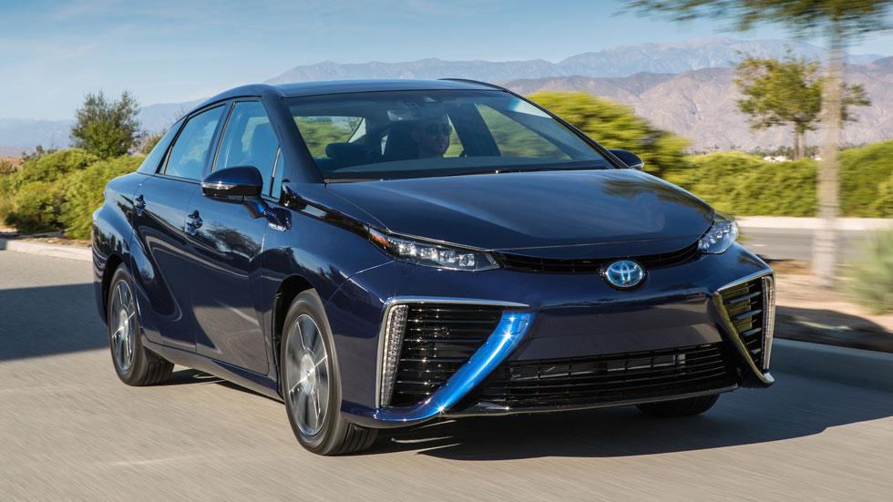 Toyota Mirai, el coche del futuro ya está aquí