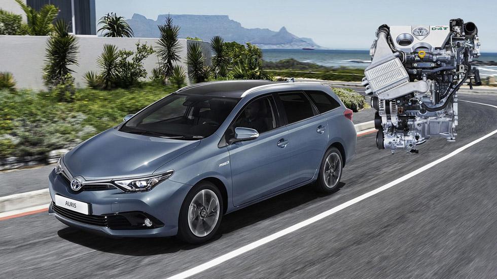 El Toyota Auris 2015 estrena un nuevo motor turbo de gasolina