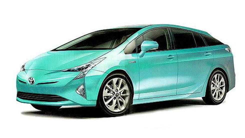 Las primeras imágenes del Toyota Prius 2015, filtradas
