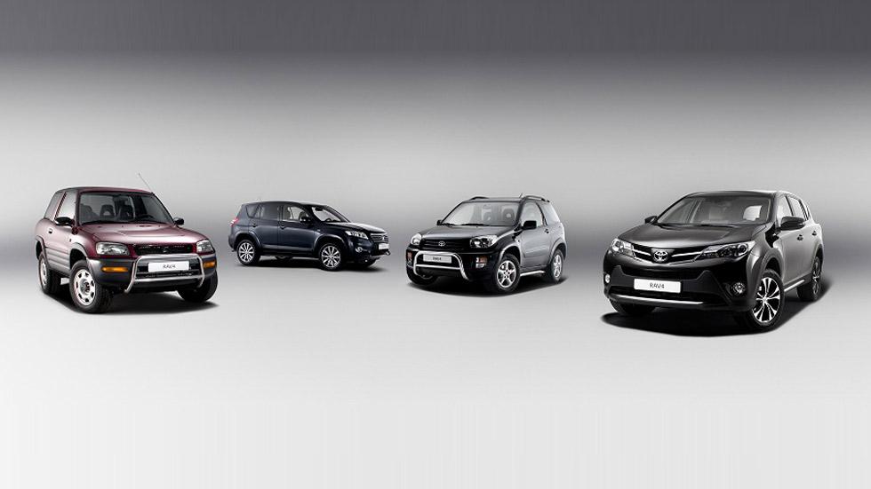 El Toyota RAV4 celebra sus 20 años de vida