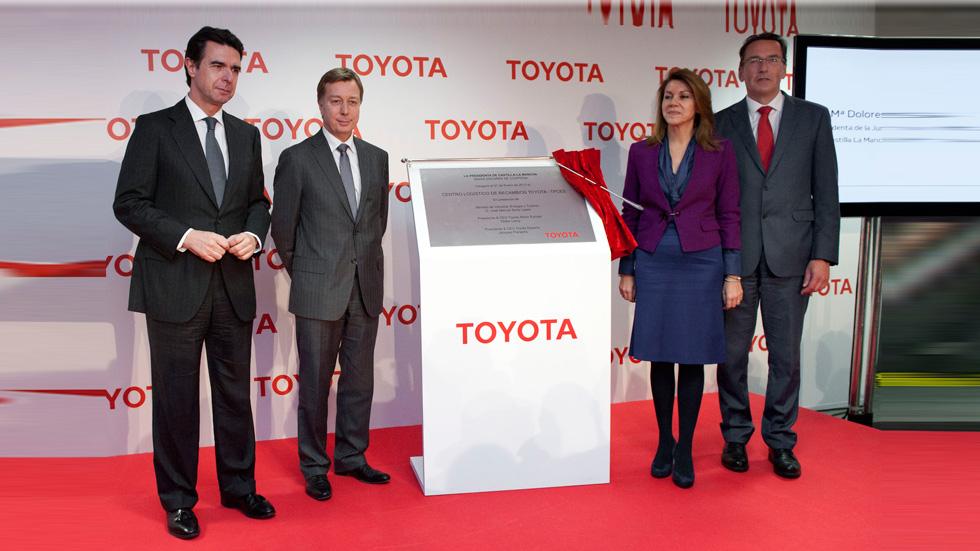 Nuevo centro de recambios de Toyota en Toledo