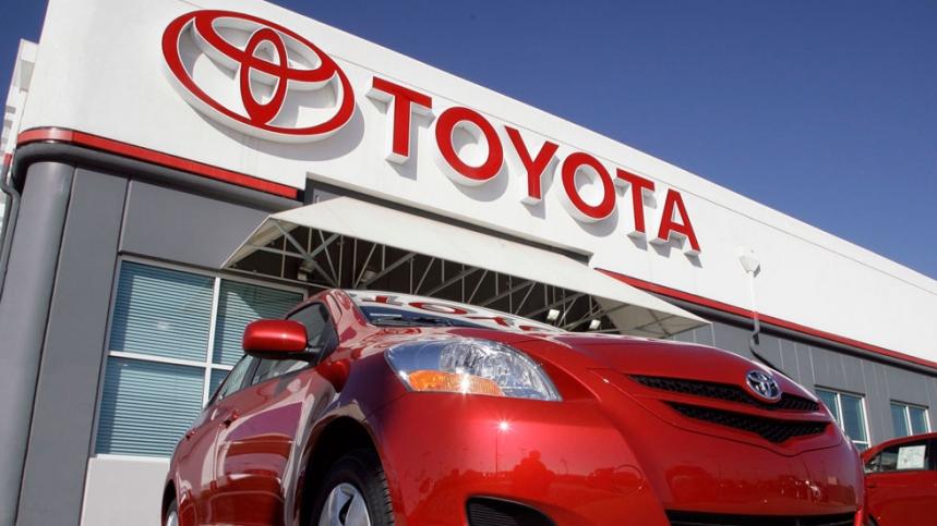 Récord de beneficios de Toyota