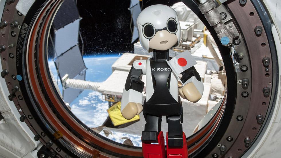 Kirobo: el robot de Toyota llega al espacio