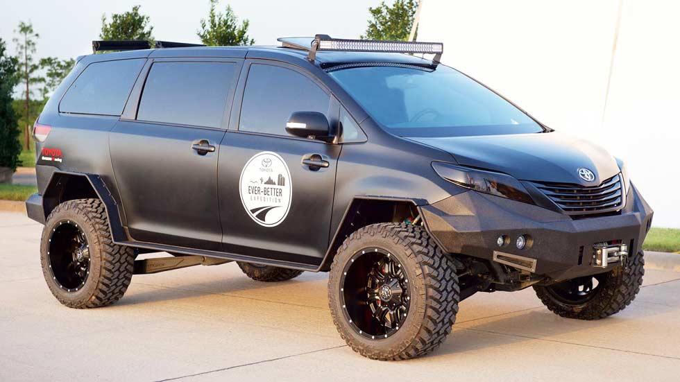 Toyota Ultimate Utility Vehicle, para las aventuras más extremas