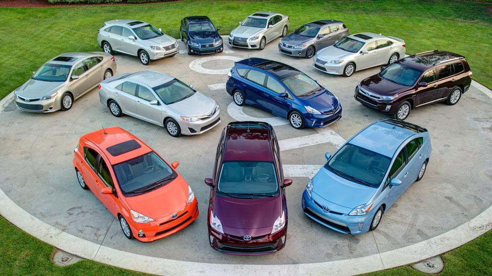 Toyota ha vendido más de 5 millones de híbridos en todo el mundo