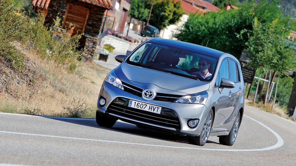 Prueba:  Toyota Verso 115D, con motor Diesel de BMW