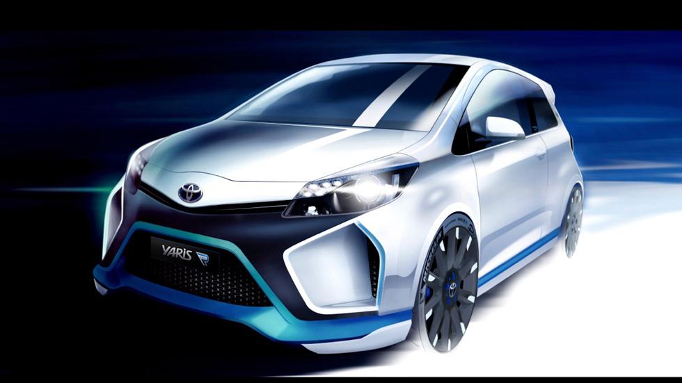 Toyota Yaris Hybrid-R Concept, pequeño híbrido deportivo